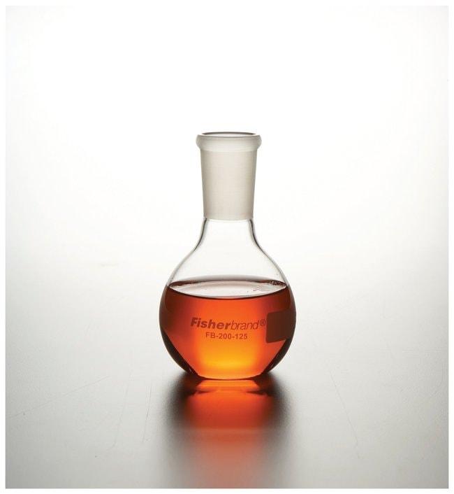 FisherbrandReusable Glass Flat-Bottom Boiling Flasks with standard taper:Flasks:Boiling