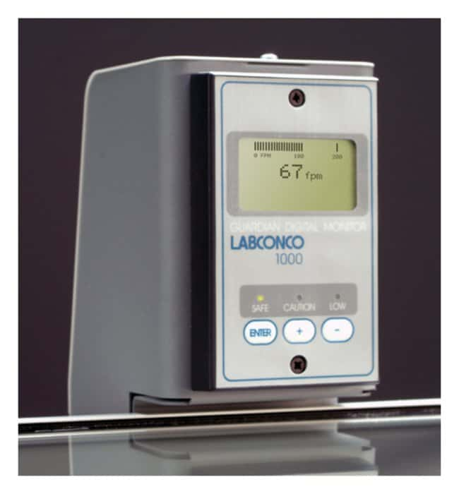 Labconco Digital Guardian 1000 Airflow Monitors For Protector XVS Ventilation