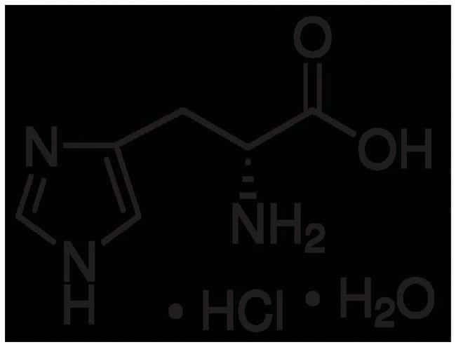 buffering region of histidine monohydrochloride The histidine content of the hemoglobin of man and of the horse and sheep, determined with the aid of 3,4-dichlorobenzenesulfonic acid.