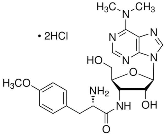 MP Biomedicals™Antibiotics: Puromycin Dihydrochloride Puromicina 100mg MP Biomedicals™Antibiotics: Puromycin Dihydrochloride