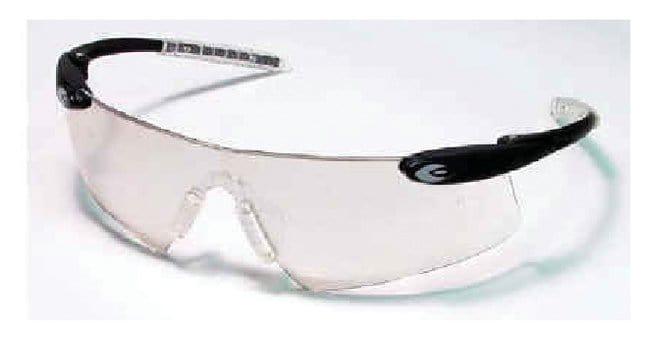 6fcf369a1074 MCR Safety Desperado Crews Safety Glasses Black Frame; Clear Mirror ...
