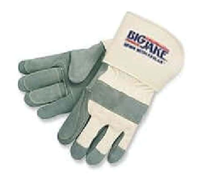 MCR Safety Double Palm Leather Gloves Large:Gloves, Glasses and Safety