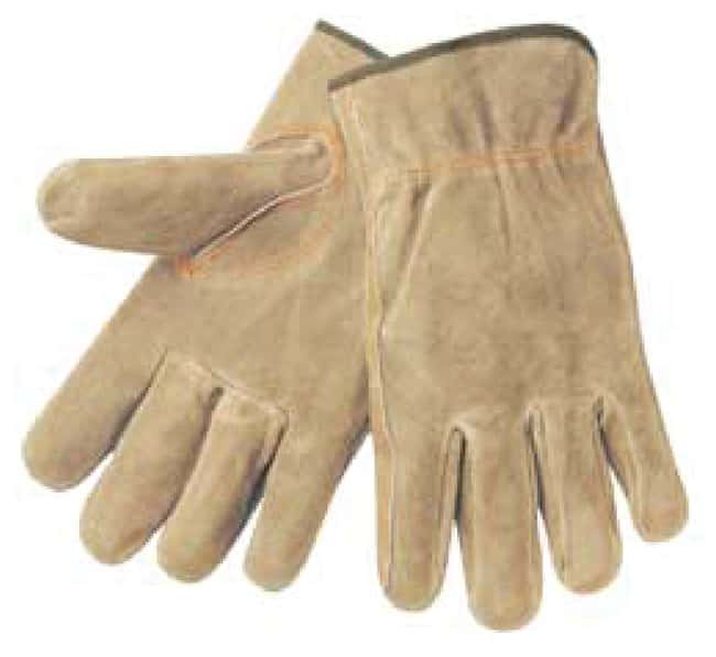 MCR Safety Memphis Premium Leather Gloves Large:Gloves, Glasses and Safety