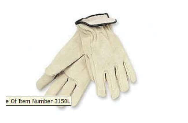 MCR Safety Split Leather Drivers Gloves Large:Gloves, Glasses and Safety