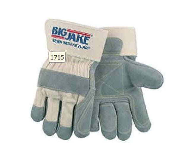 MCR Safety Double Palm Leather Gloves X-Large:Gloves, Glasses and Safety