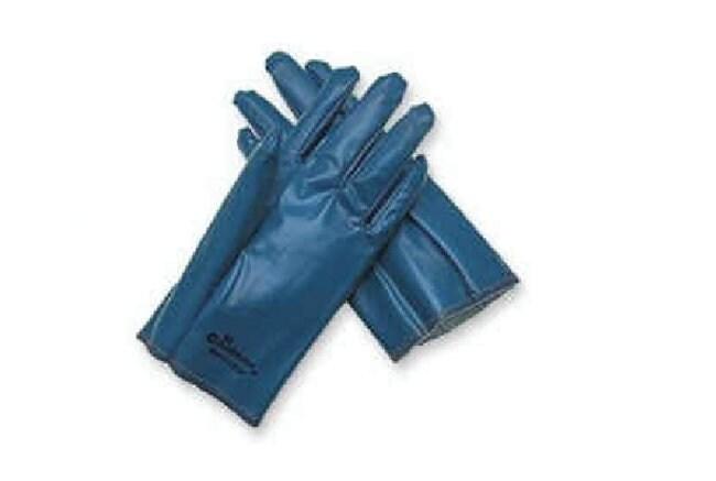 MCR Safety Nitrile Impregnated Gloves Blue, Large:Gloves, Glasses and Safety