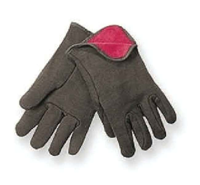 MCR Safety Red Fleece Lined Jersey Gloves Large:Gloves, Glasses and Safety