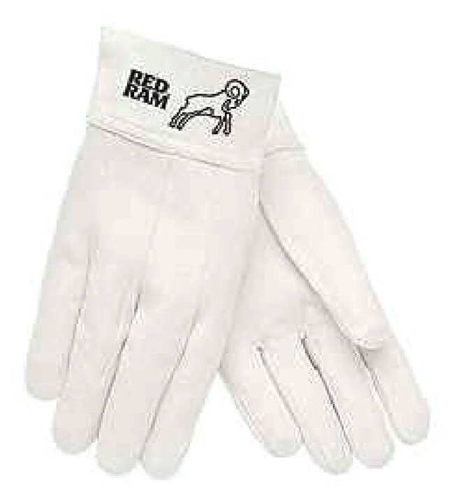 MCR Safety Goat Skin Leather Gloves Size: 9:Gloves, Glasses and Safety