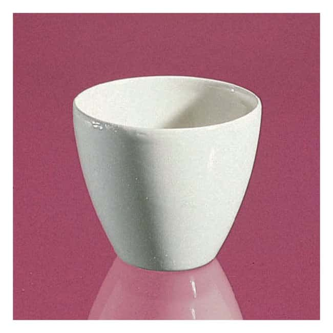 CoorsTek High-Form Porcelain Crucibles 40mL:Beakers, Bottles, Cylinders