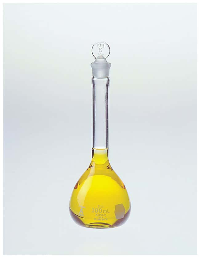 DWK Life Sciences Kimble™ Kontes™ Class A Volumetric Flasks with Std. Taper Stopper