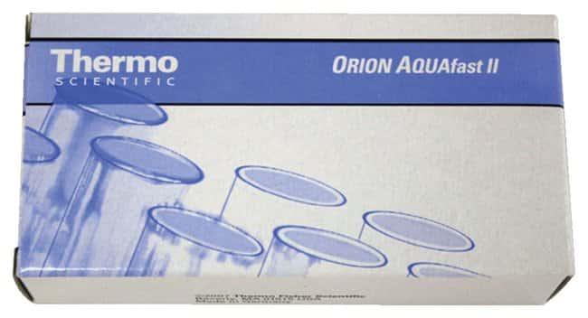Thermo Scientific™ Orion™ AQUAfast™ II Chemistries Test Kits Test: Chlorine total Thermo Scientific™ Orion™ AQUAfast™ II Chemistries Test Kits