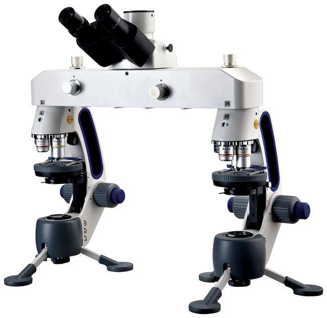 Swift M3-F Forensic Comparison Microscope  4X, 10XD, 40XRD, micro, 2X macro