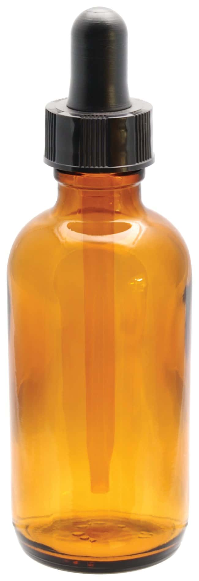 Fisherbrand™ Amber Glass Dropping Bottles