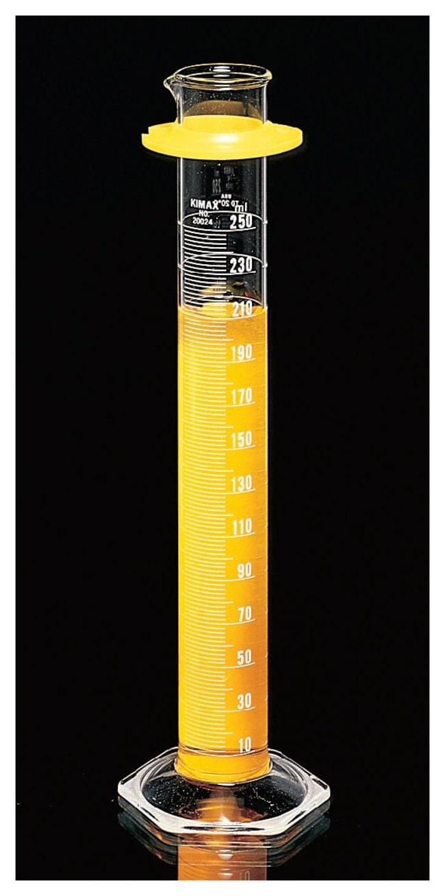 DWK Life SciencesKimble™ KIMAX™ Class B Cylinders with Single White Metric Scale
