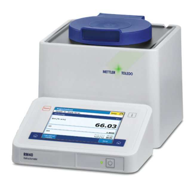 Mettler Toledo Excellence RM Digital Benchtop Refractometers RM40; 4-place;