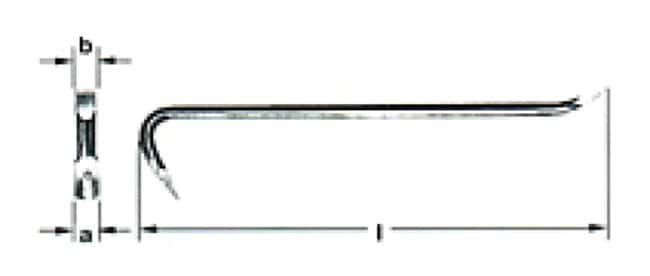 Ampco Safety Crow Bars 39 x 22 x 760mm (1.56 x 0.88 x 30 in.):Gloves, Glasses