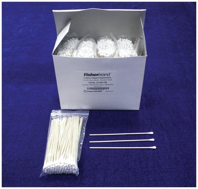 FisherbrandWood Handled Cotton Swabs and Applicators:Cell Culture Utensils:Applicators