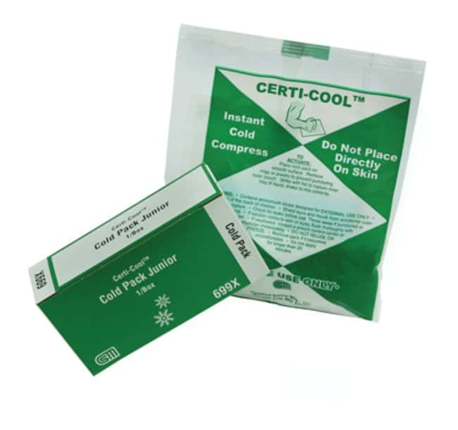 Certified Safety Certi-Cool Cold Pack Cold pack refill:Gloves, Glasses