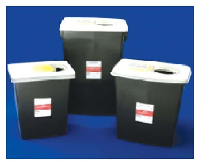 Covidien RCRA Hazardous Waste Containers:Gloves, Glasses and