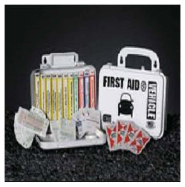 Certified Safety Vehicle First Aid Kits Poly box; Dimensions: 5 x 8 x 3