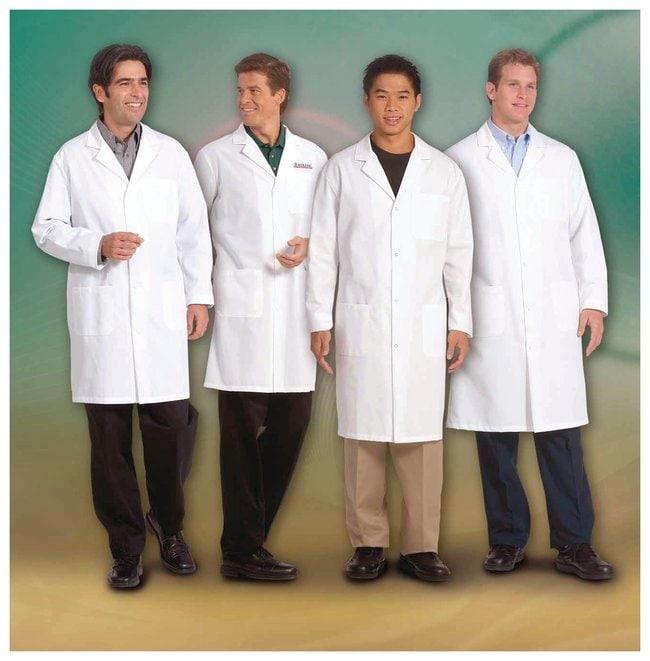 Superior UniformWorklon Men Cotton Lab Coats White; Size: 50:Personal Protective