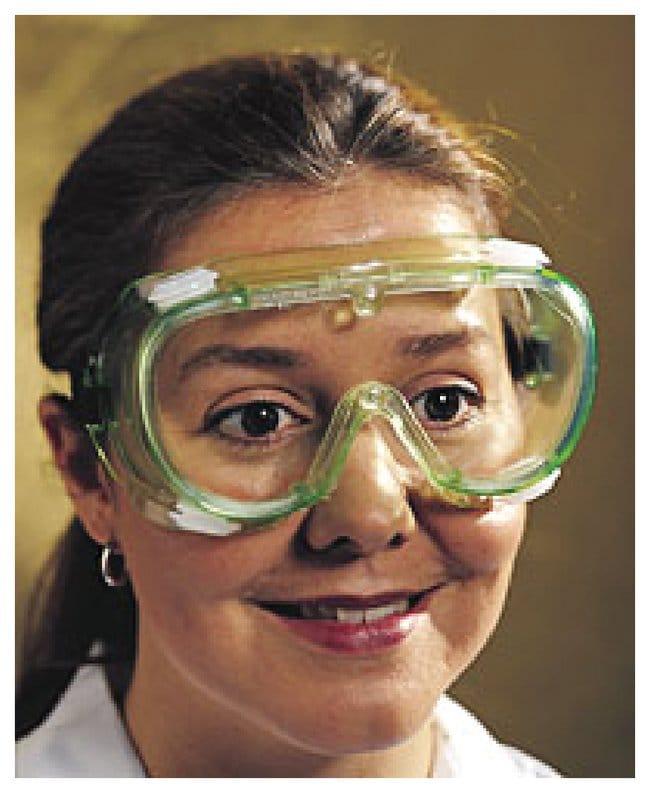 Oberon Face-Fit Soft Frame Goggles Chemical splash; Anti-fog:Gloves, Glasses