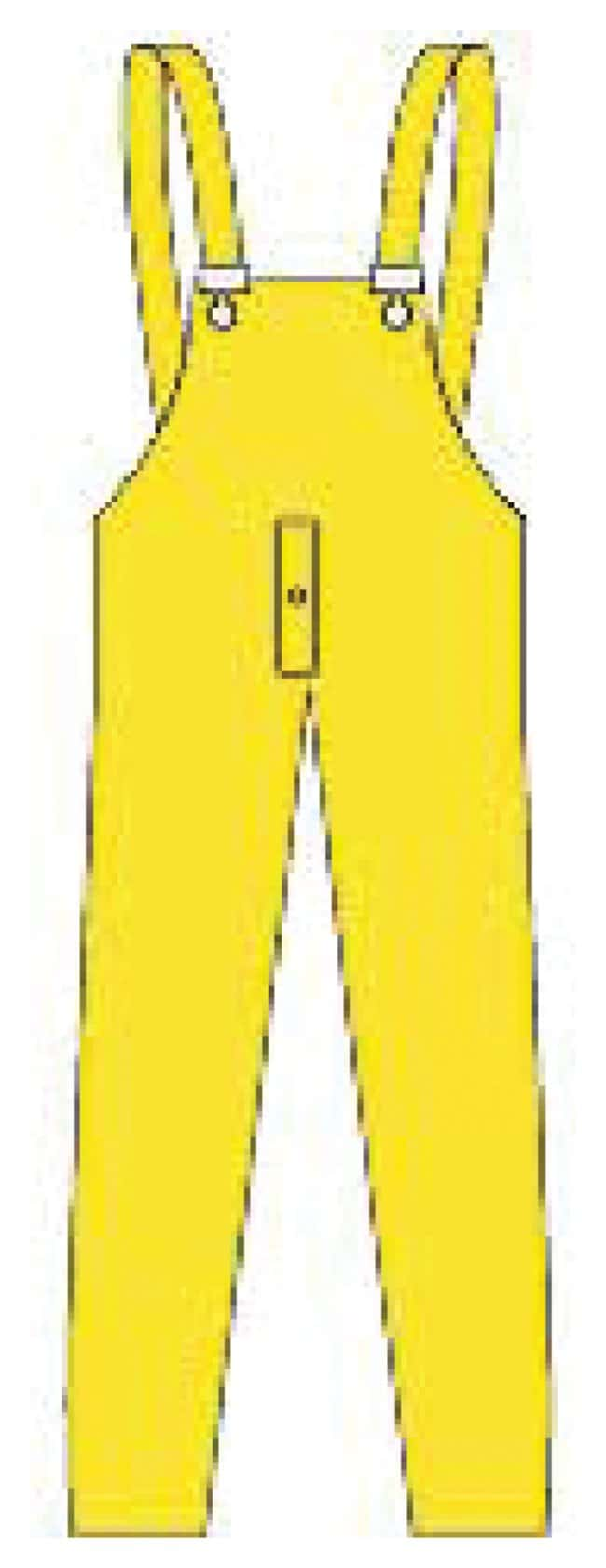 MCR Safety Wizard PVC/Nylon Rainwear: Pants Bib pant; With snap-fly; Large:Gloves,