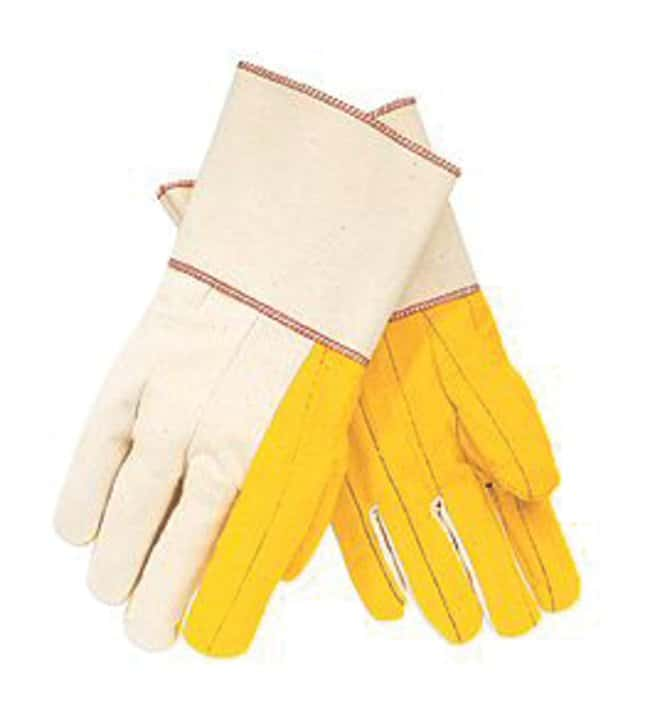 MCR Safety Memphis Gloves Cotton Work Gloves Glove Chores Double Palm:Gloves,
