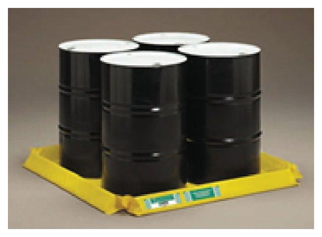 CEP ENPAC Spillpal Drum Pallets Four drum pallet, 4ft. (1.2m) L x 4ft.