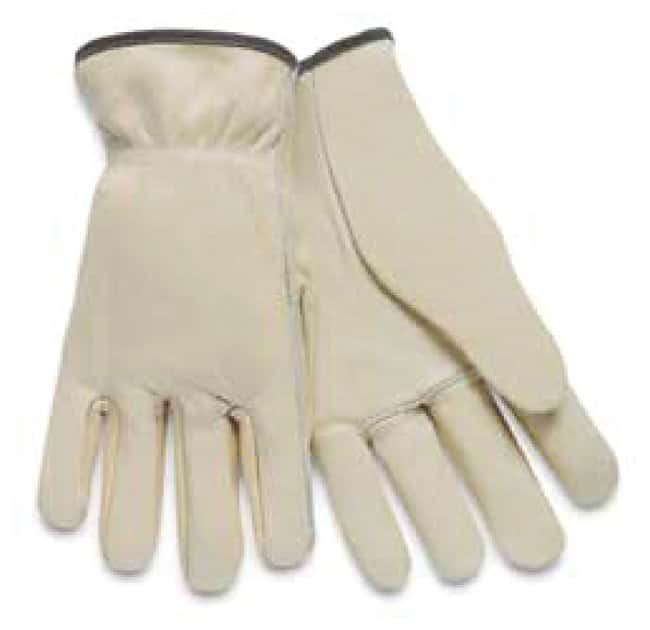 MCR Safety Memphis Gloves Leather Drivers Gloves Select Grade, Small:Gloves,