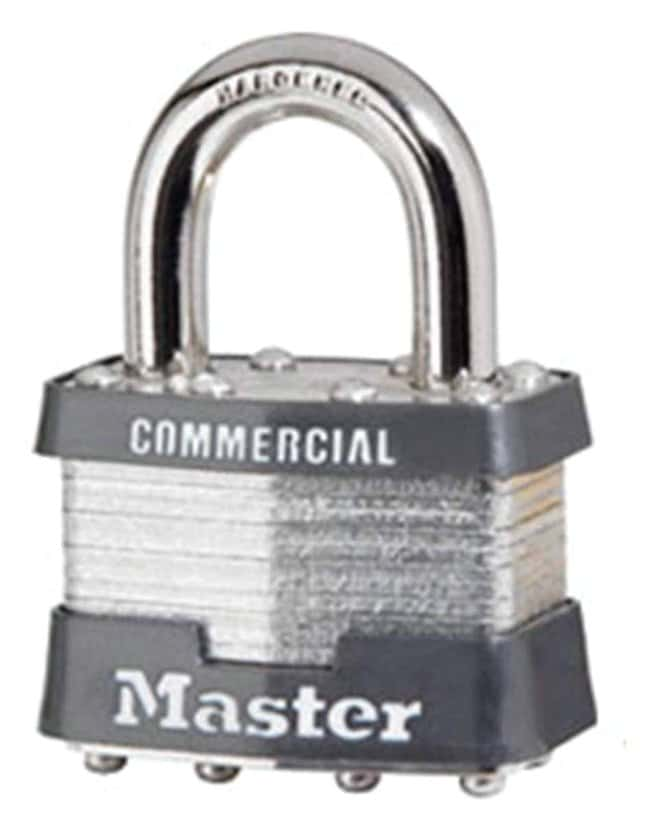 Master Lock No. 1 Padlocks Masterlock W/two Keys; Dual-locking levers:Gloves,