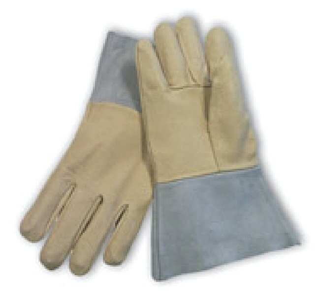 Fisherbrand Top Grain Pigskin Leather Mig Tig Welder's  Gloves with Aramid