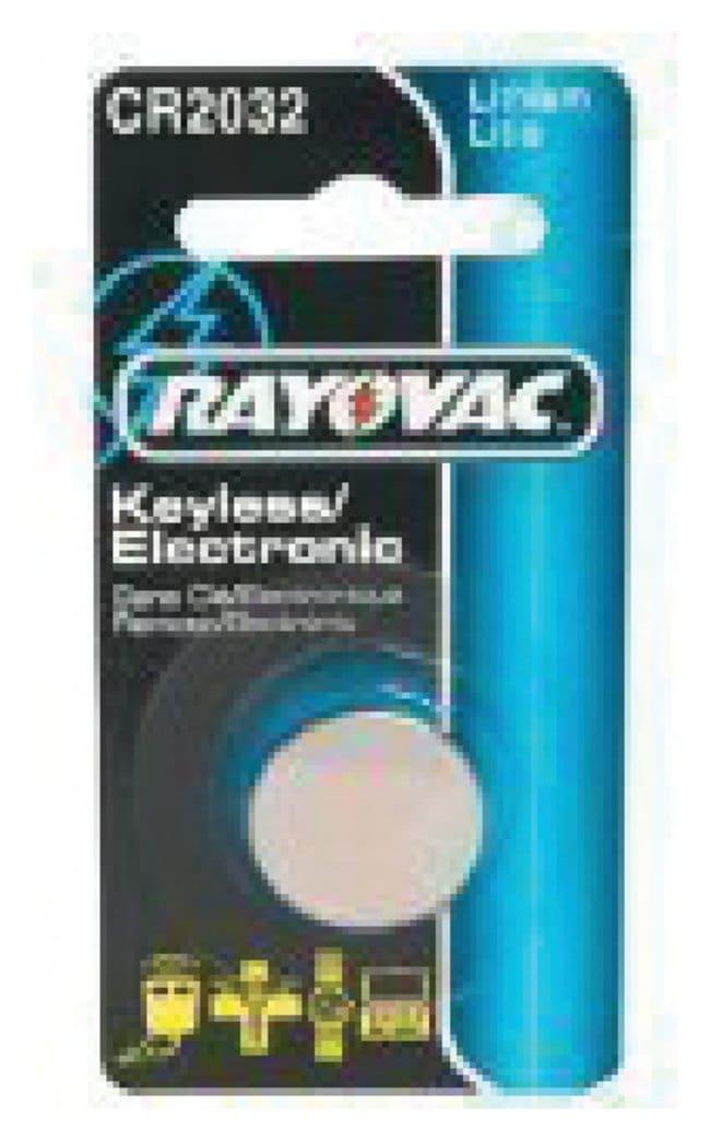 Spectrum BrandsRayovac Litium Batteries 3.0V Lithium:Lab Electrical Equipment