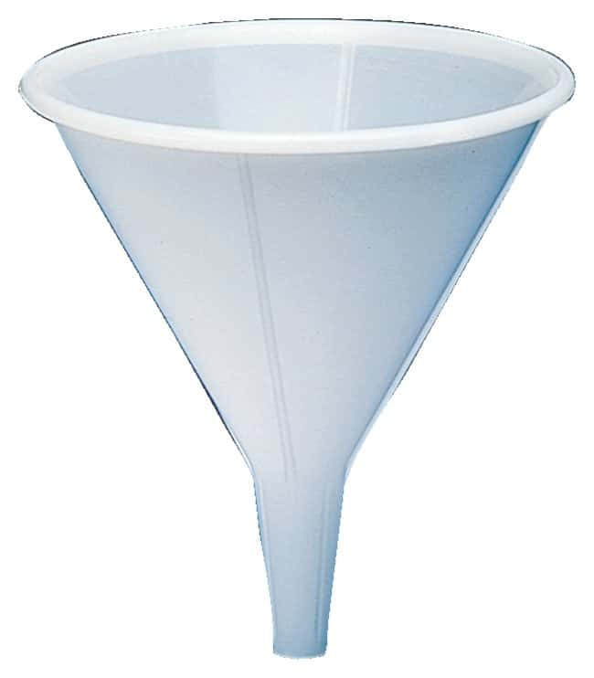 Bel-Art SP Scienceware Polypropylene Funnels with Short Stems and External