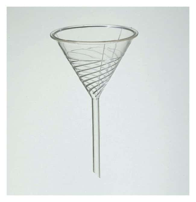 Bel-Art™ SP Scienceware™ Urbanti™ High-Speed Funnels Stem: 160mm; For filter paper size: 32 to 38.5cm; Top dia.: 196mm Bel-Art™ SP Scienceware™ Urbanti™ High-Speed Funnels
