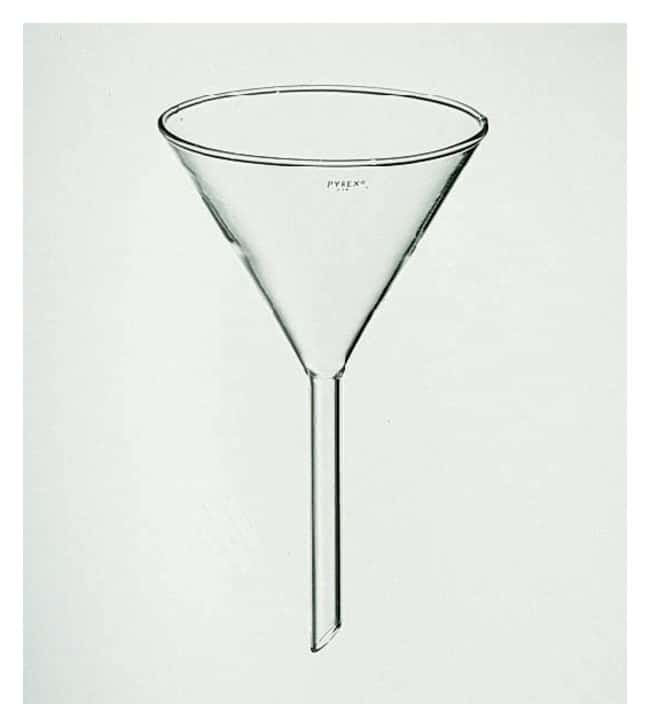 PYREX Funnels with 60 Angle Bowls and 150mm Stems  Top dia.: 147mm:Beakers,