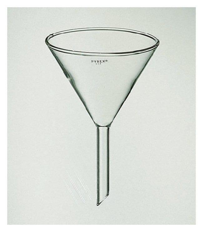 PYREXPlain Diameter 60 Angle Funnel with Short Wide Stem 147 mm:Funnels