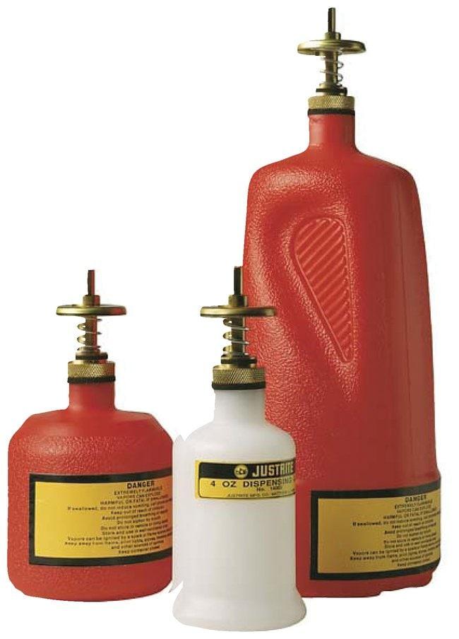 Justrite™Nonmetallic Dispensing Can 0.12L (4 oz.) Justrite™Nonmetallic Dispensing Can
