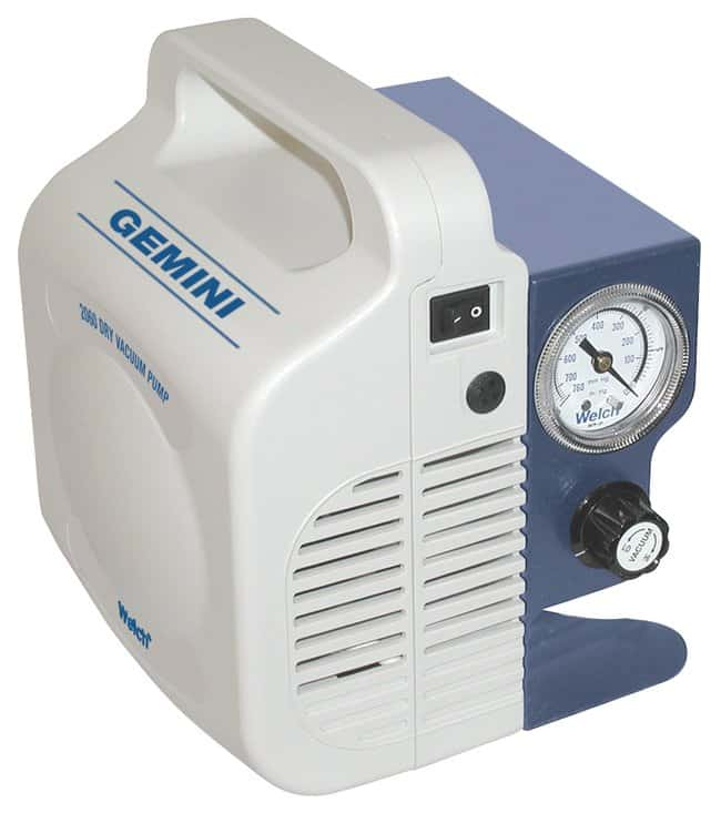Welch Gemini Dry Vacuum Pump: Model 2060 North American plug; 115V 60Hz:Pumps