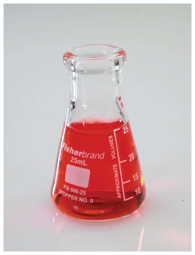 Fisherbrand™ Reusable Glass Narrow-Mouth Erlenmeyer Flasks: Laboratory Flasks Dishes, Plates and Flasks