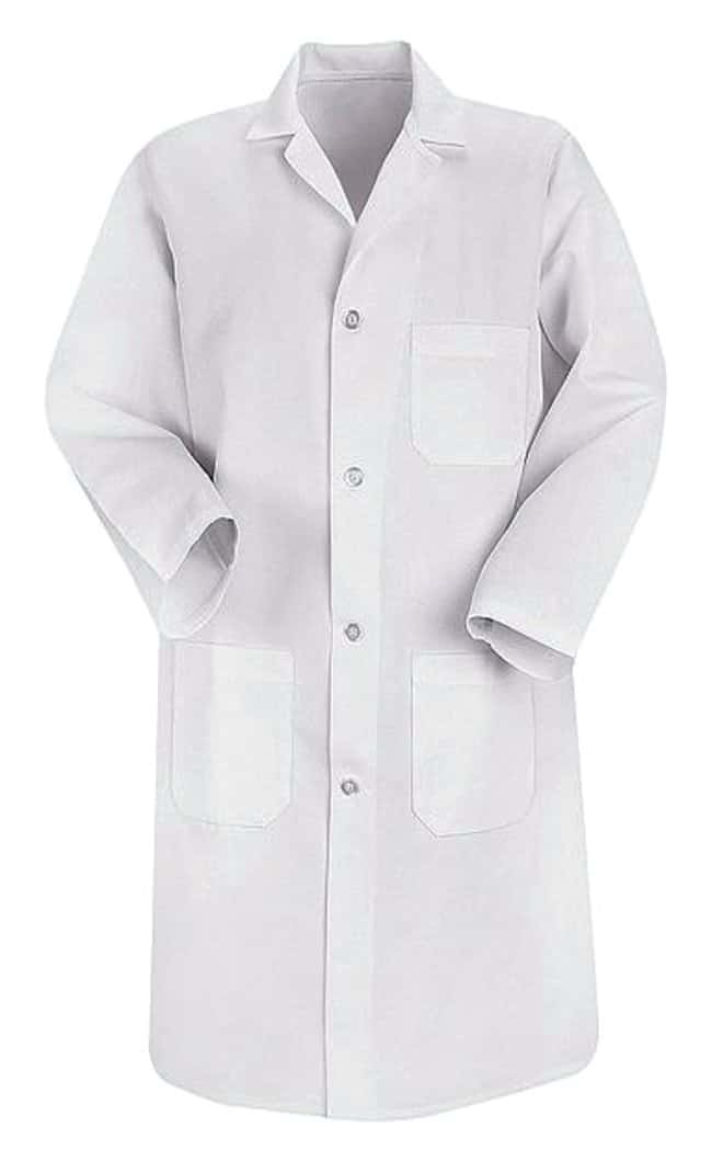 VF Workwear Red Kap Men's Lab Coats White; Regular; X-Small:Gloves, Glasses