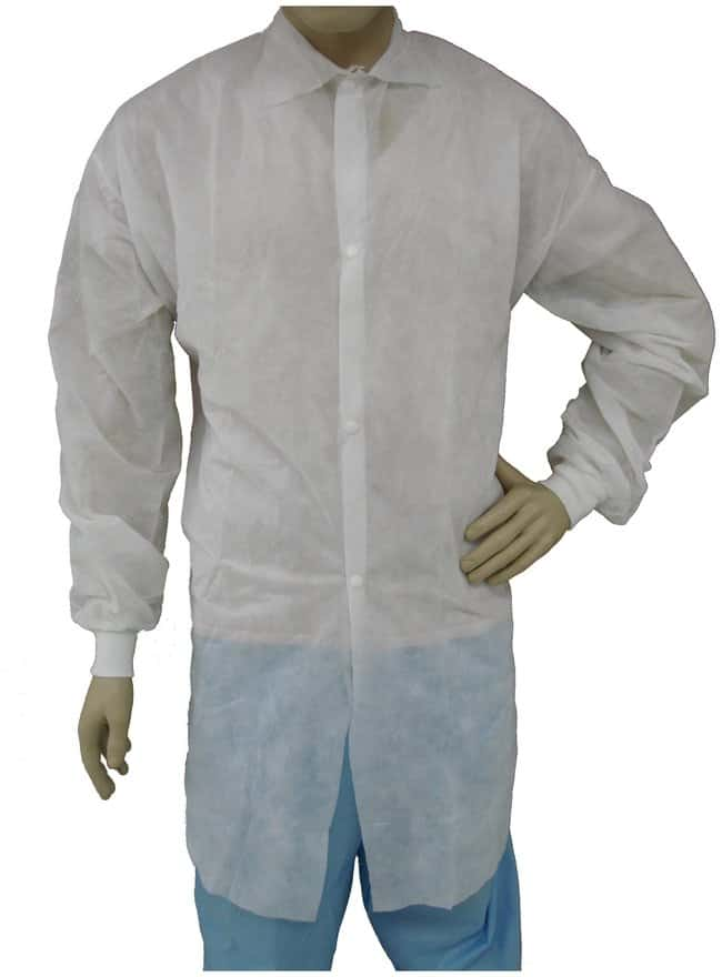 TiansPolypropylene Lab Coats:Personal Protective Equipment:Safety Clothing