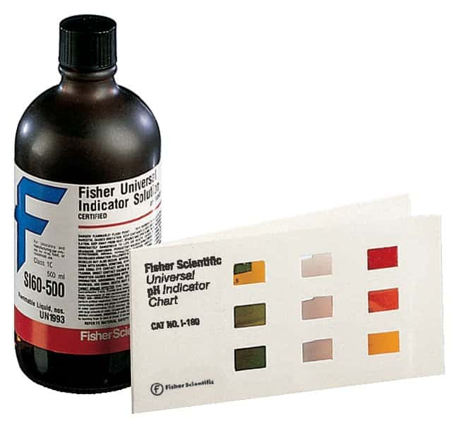 Fisher Chemical Universal pH Indicator System:Thermometers, pH Meters,