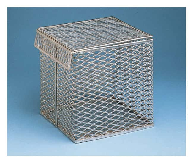 Fisherbrand Aluminum Baskets with Tilt-Top Lids:Racks, Boxes, Labeling