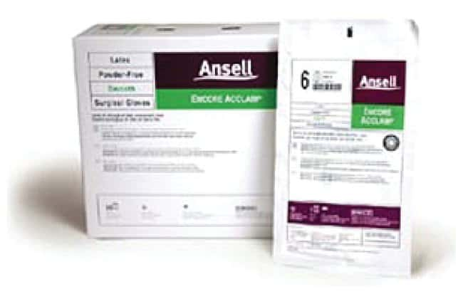 Ansell Encore Acclaim Latex Sterile Gloves Size: 9; Smooth finish:Gloves,