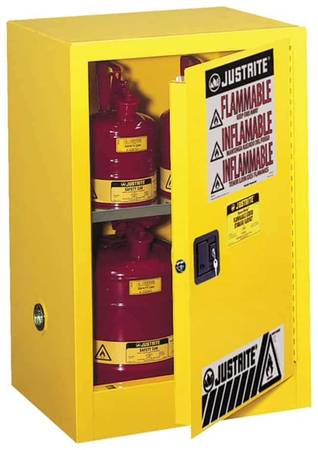 Justrite™ Sure-Grip™ EX Compac Flammable Safety Cabinet