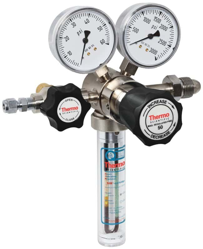 Thermo Scientific™High Purity Two Stage Brass Gas Regulators