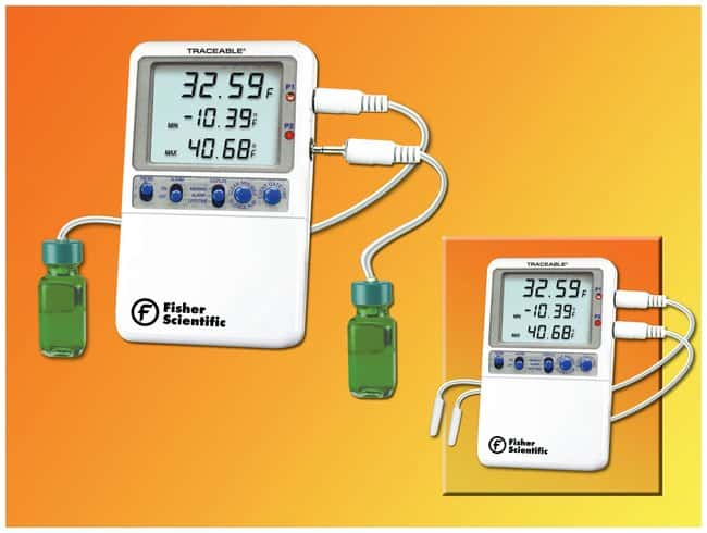 Fisherbrand™Traceable™ Hi-Accuracy 0.01° Refrigerator Thermometer