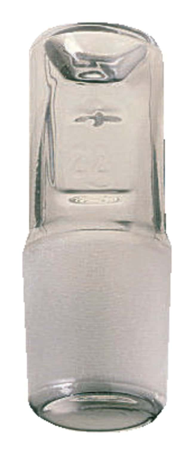 PYREX™ standard taper Glass Barrelhead Short-Length Stoppers for Flasks and Separatory Funnels