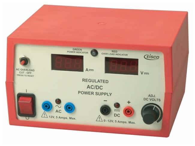 Eisco™ Regulated AC/DC 12V Power Supply